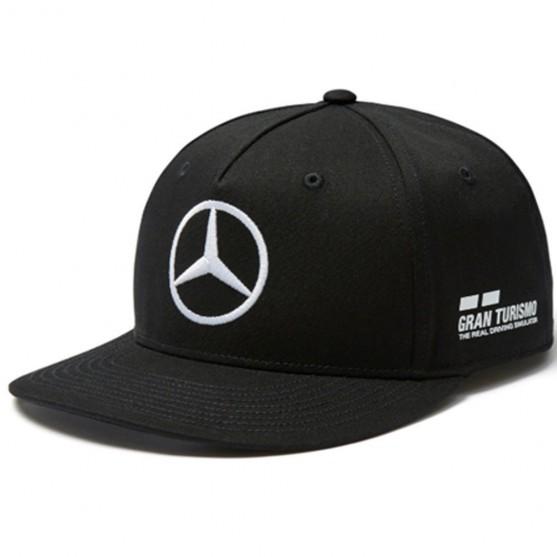 Mercedes-Amg Petronas F1 2018 Cappello Lewis Hamilton Flat Black