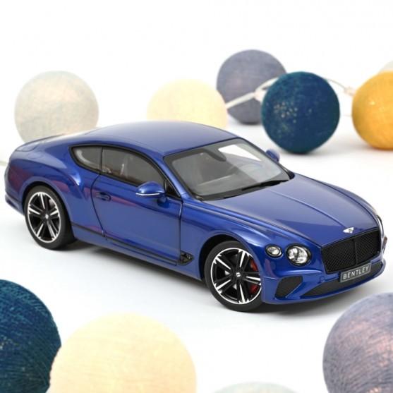 Bentley Continental GT 2018 Sequin Blue 1:18