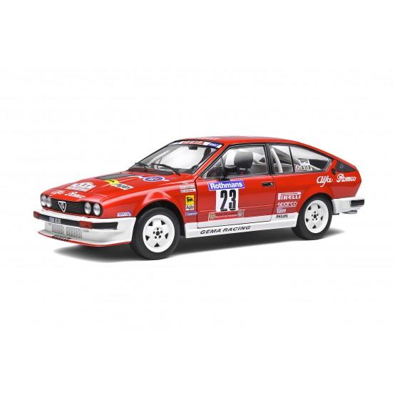Alfa Romeo Alfetta Gtv6 5° Tour de Corse 1985 Yves Loubet - Jean-Bernard Vieu 1:18