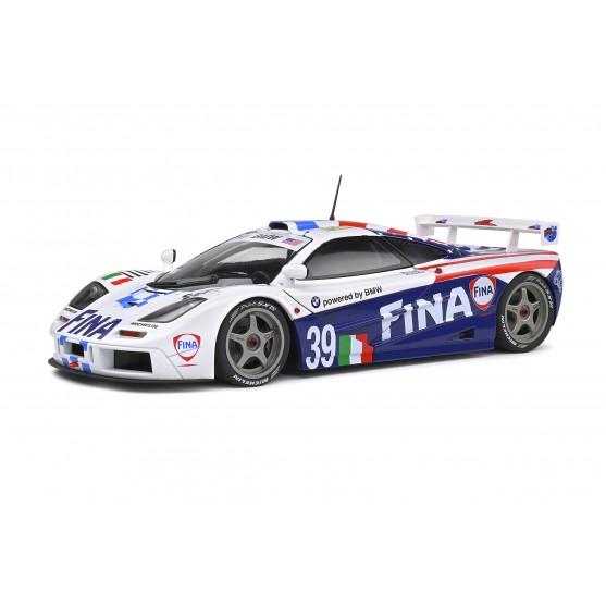 McLaren F1 GTR Fina 8° 24h LeMans 1996 Nelson Piquet - Johnny Cecotto - Danny Sullivan 1:18
