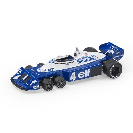 Tyrrell P34/B F1 1977 Patrick Depailler 1:18