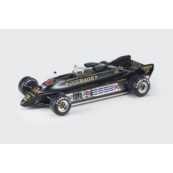 """Lotus Ford Cosworth DFV Type 88 F1 1981""""Courage"""" Nigel Mansell 1:18"""