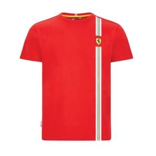 Scuderia Ferrari T-Shirt Flag Logo Rossa