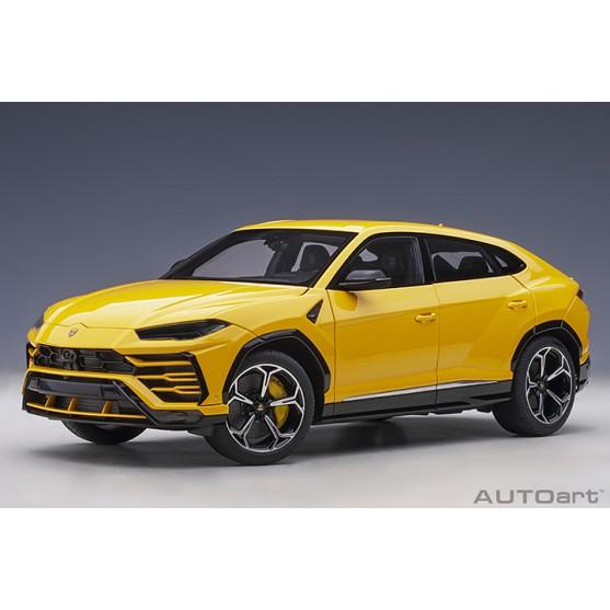 Lamborghini Urus 2018 Giallo 1:18