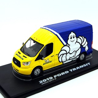 """Ford Transit 2019 Van High Roof """"Michelin"""" 1:43"""