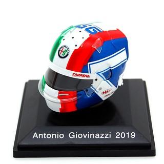 Antonio Giovinazzi Casco Bell Helmet F1 2019 Alfa Romeo Racing 1:8