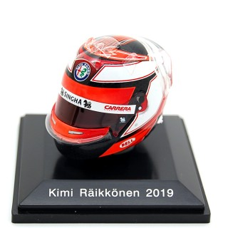 Kimi Raikkonen Casco Bell Helmet F1 2019 Alfa Romeo Racing 1:8