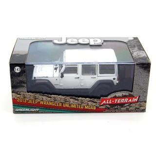 Jeep Wrangler Unlimited 2013 Moab White 1:43