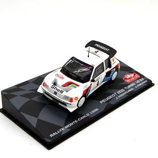 Peugeot 205 Turbo 16 E2 Rally Montecarlo 1986 - J. KANKKUNEN - J.PIRONEN 1:43