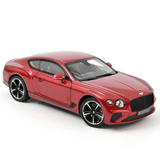 Bentley Continental GT 2018 Candy Red 1:18