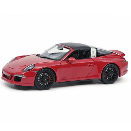 Porsche 911 Targa 4 GTS 2016 Red Metallic 1:18
