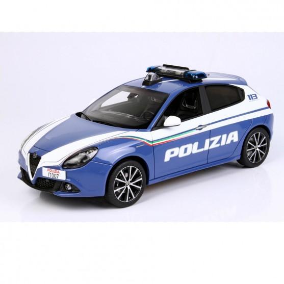 "Alfa Romeo Giulietta Veloce 2018 ""Polizia"" 1:18"
