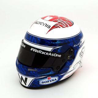 Nicolas Latifi Casco Bell Williams FW43 Formula 1 2021 1:2