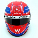George Russell Casco Bell Williams FW43 Formula 1 2021 1:2
