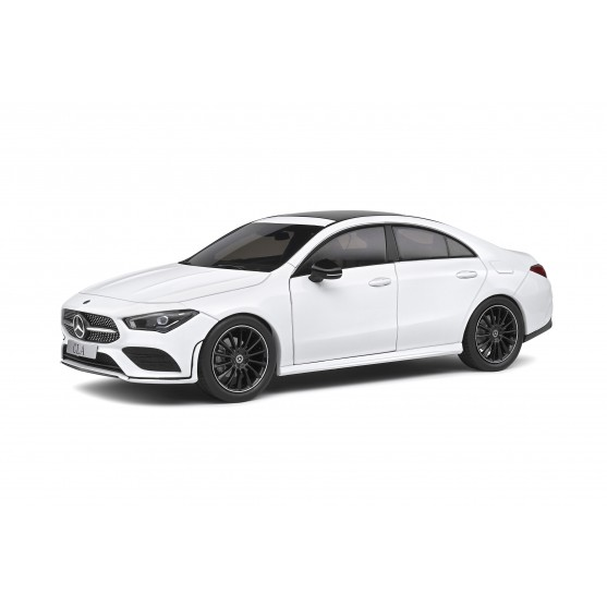 Mercedes-Benz CLA (C118) AMG Line 2019 White 1:18