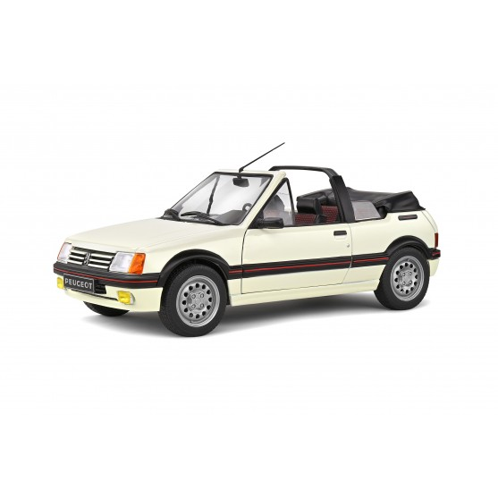 Peugeot 205 CTI 1986 Blanc Meije 1:18