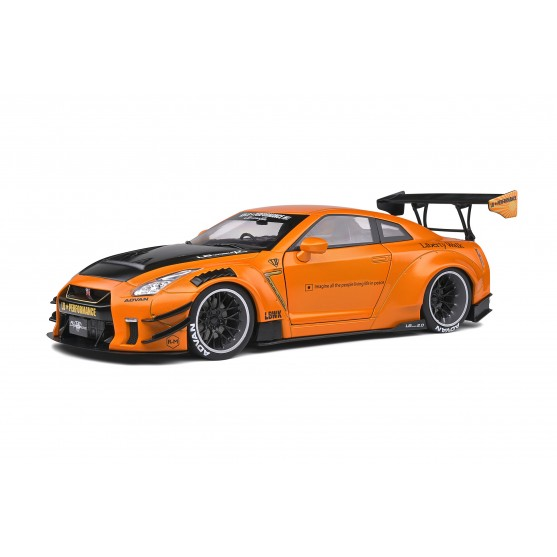 Nissan LB Works GT-R (R35) Type II 2020 Orange Metallic 1:18