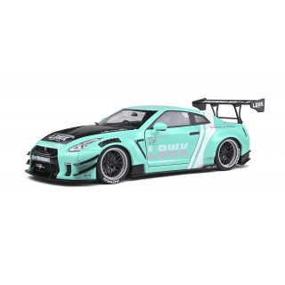 Nissan LB Works GT-R (R35) Type II 2020 Mint Green 1:18