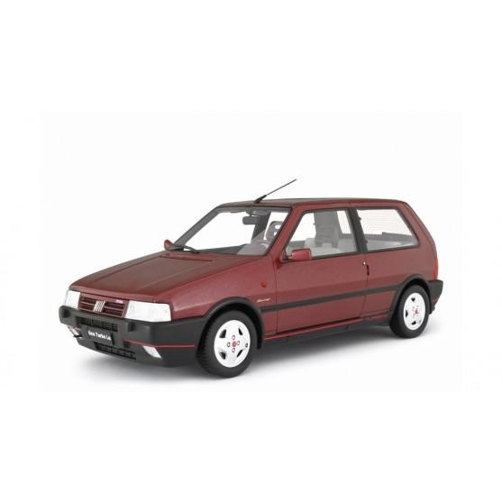 Fiat Uno Turbo I.E. Seconda Serie MK2 Racing 1992 Rosso metallizzato 1:18