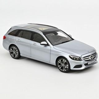 Mercedes-Benz C-Class T-Model 2014 Argento Metallizzato 1:18