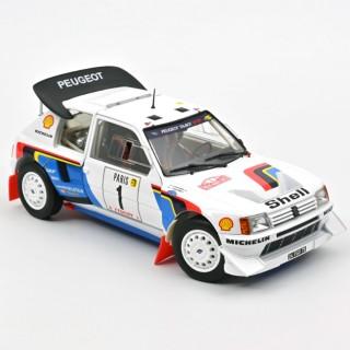 Peugeot 205 T16 Rallye Monte-Carlo 1986  T. Salonen/S. Harjanne  1:18