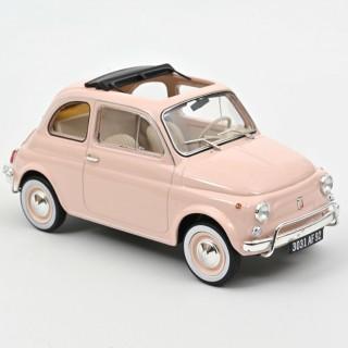 Fiat 500 L 1968 Light Pink 1:18