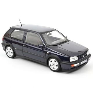 Volkswagen Golf VR6 1996 Bleu métallisé 1:18