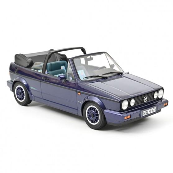 "VW Golf Cabriolet ""Coast"" 1991 Violet métallisé  1:18"