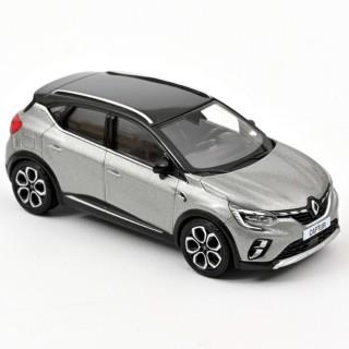 Renault Captur 2020 Gris Cassiopée & Toit noir 1:43