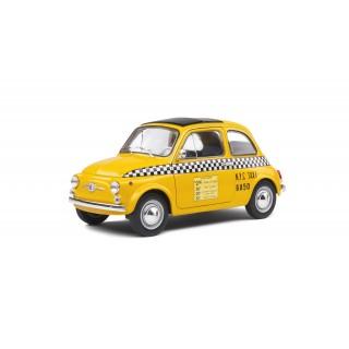 Fiat 500 1965 Taxi NYC Giallo 1:18