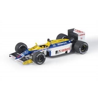 Williams Honda FW11 F1 1986 Nigel Mansell 1:18
