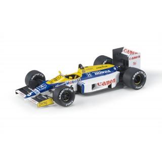 Williams Honda FW11 F1 1986 Nelson Piquet 1:18