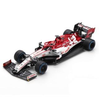 Alfa Romeo Racing ORLEN C39 Turkish GP 2020 Sauber 500th Race Kimi Räikkönen With Pit Board :18