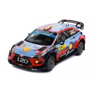 "Hyundai i20 Coupé WRC ""Shell Mobis WRT"" winner Rallye Catalogna 2019 Thierry Neuville - Nicolas Gilsoul 1:18"