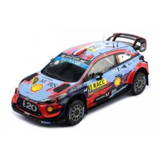 """Hyundai i20 Coupé WRC """"Shell Mobis WRT"""" 4° Rallye Catalogna 2019 Sébastien Loeb - Daniel Elena 1:18"""