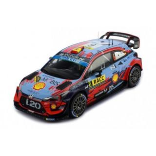 """Hyundai i20 Coupé WRC """"Shell Mobis WRT"""" 3° Rallye Catalogna 2019 D. Sordo - C. Del Barrio 1:18"""