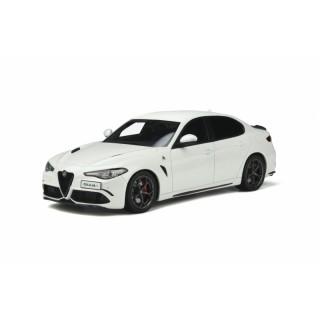 Alfa Romeo Giulia Quadrifoglio 2019 Bianco Trofeo 1:18