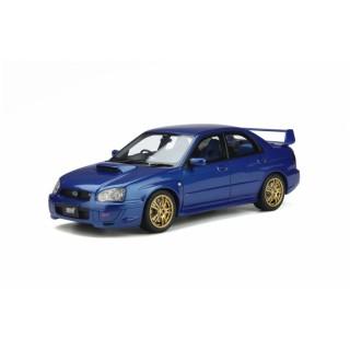 Subaru Impreza 2 Ph.2 WRX STI 2003 World Rally Blue Pearl 1:18