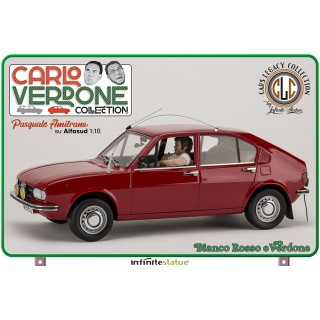 """Alfa Romeo Alfasud 1981 Pasquale Amitrano """"Bianco Rosso e Verdone"""" 1:18"""