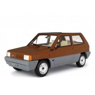 Fiat Panda 45 1980 Marrone Land 1:18