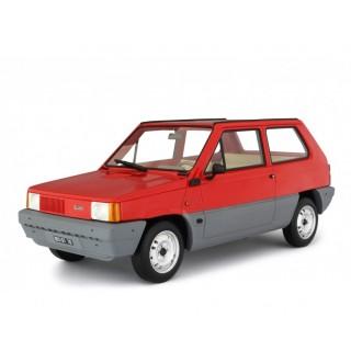 Fiat Panda 30 1980 Rosso Siam 1:18