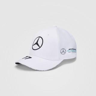Mercedes-Amg Petronas F1 2021 Cappello Baseball Valtteri Bottas White