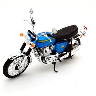 Honda Dream CB750 Four 1969 Blue Metallic 1:12