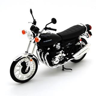 Kawasaki 900 Super4 Z1 1972 Black 1:12