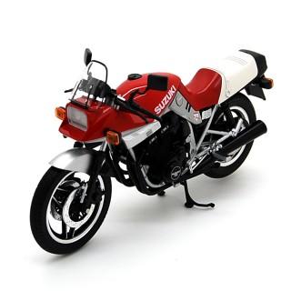 Suzuki GSX 1100S Katana 1980 White Red 1:12