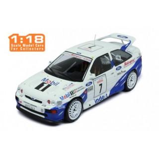 Ford Escort RS Cosworth 7 th Rallye Tour de Corse 1993 M.Biasion - T. Siviero 1:18