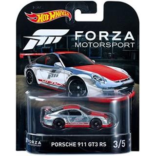 Porsche 911 GT3 RS 1:64 collezione Forza Motorsport 3/5 Hotwheels