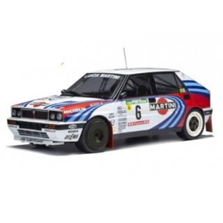 Lancia Delta Integrale 16V 3nd Rallye Portugal 1990 J.Kankkunen - J.Piironen 1:18