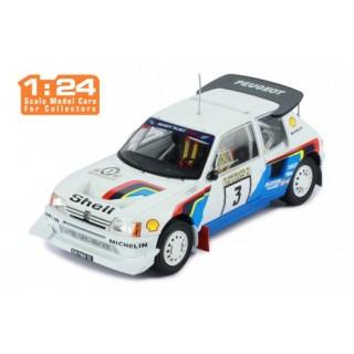 Peugeot 205 T16 E2 2nd Rally 1000 Lakes 1986 Kankkunen - Piironen 1:24