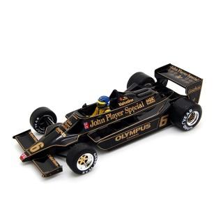 Lotus 79 Ford Cosworth DFV Winner Austrian GP 1978 Ronnie Peterson 1:18